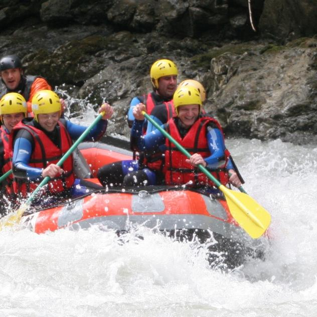 Kayak, Rafting, Hydrospeed, Canyoning