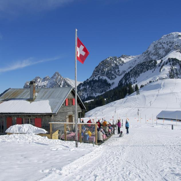"Hut of ""La Sarouche"""