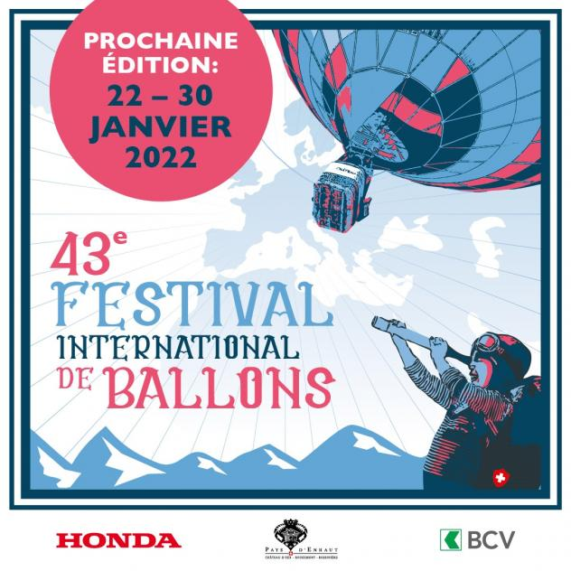 Festival International de Ballons - Reporté en 2022
