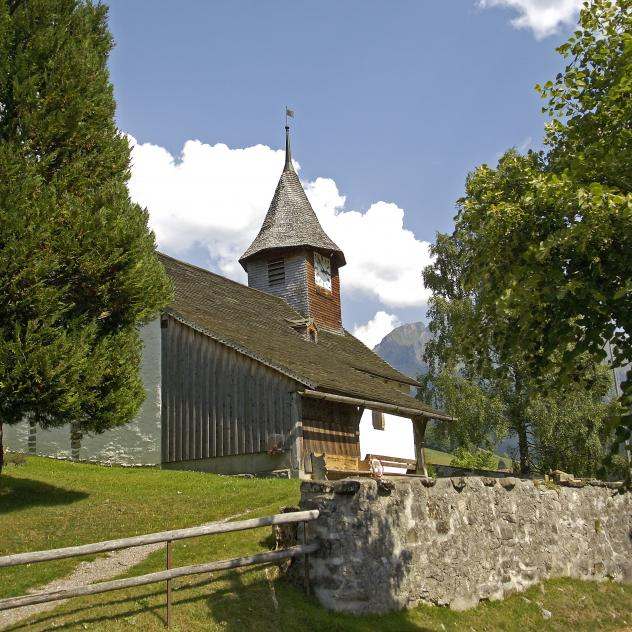 The church of L'Etivaz