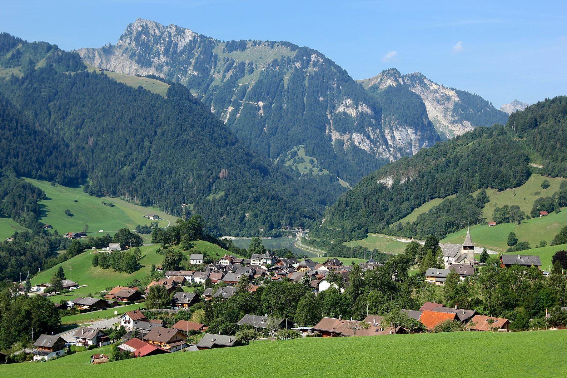 Reiseroute | Boucle de Rossinière - Pays-d'Enhaut (Schweiz)