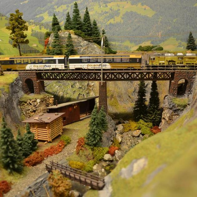 Model railway of the MOB