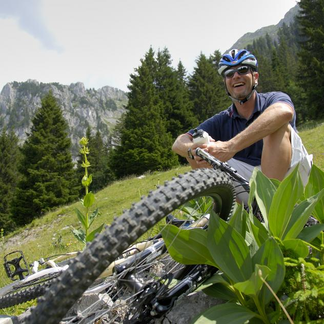 Mountain bike trail |Pays-d'Enhaut Bike Est