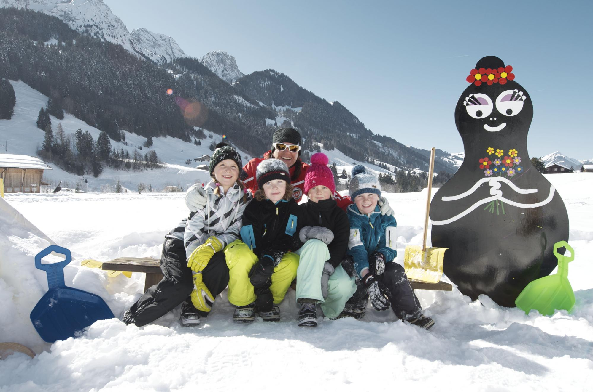 Barbapapa Ski Center for children