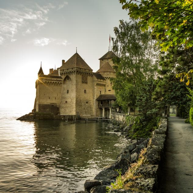 Tavern of Chillon castle
