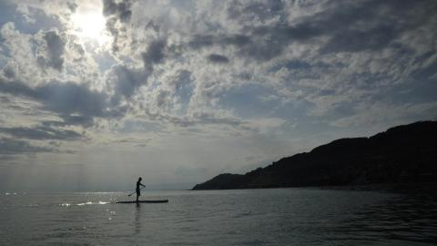 Stand up paddle Lavaux