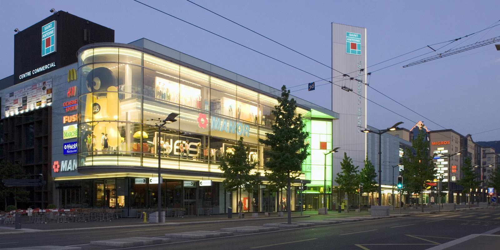 Lausanne Centre Ville Magasin
