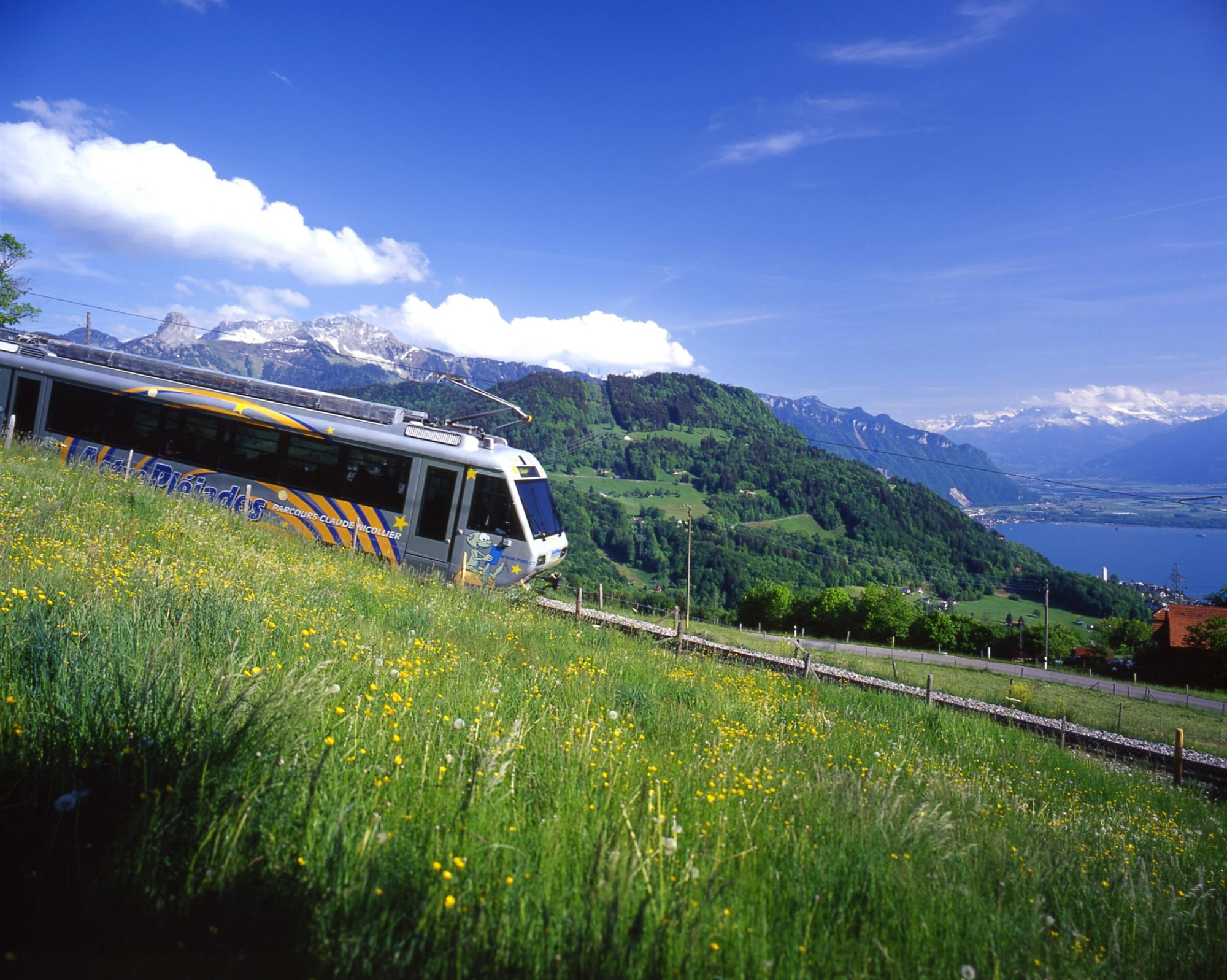 The Star Train, Vevey - Les Pléiades