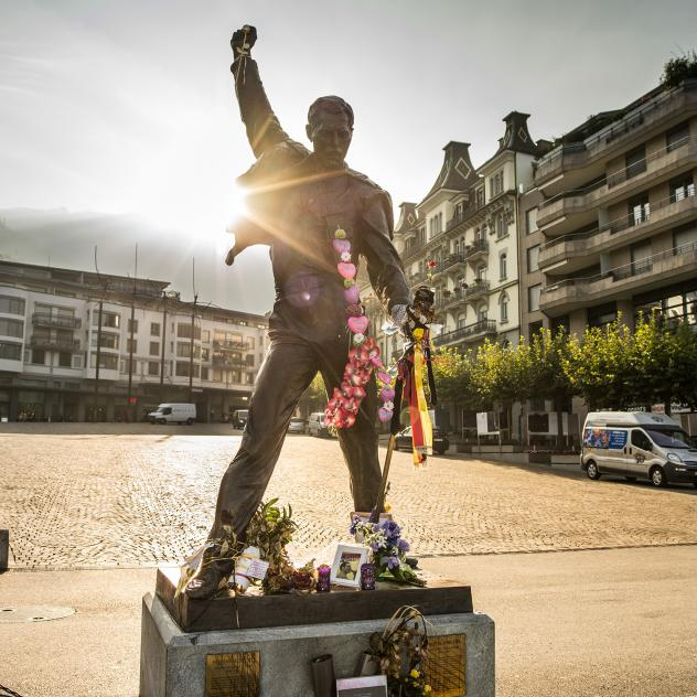 Freddie Mercury and Queen in Montreux