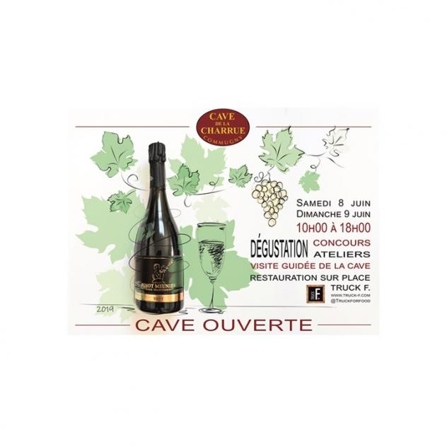 Cellars open at the Cave de la Charrue