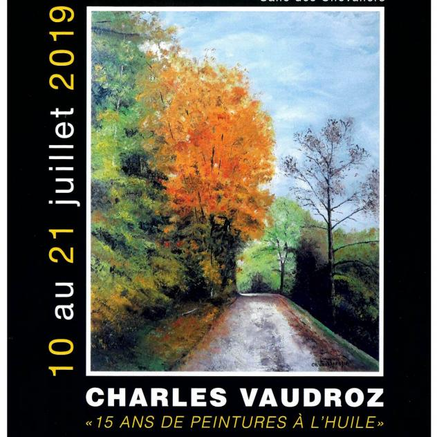 Exhibition at the Château de Rolle - Charles Vaudroz