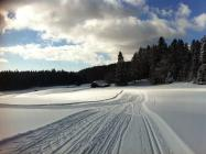 Cross-country skiing - La Givrine - Les pralets (Marchairuz)