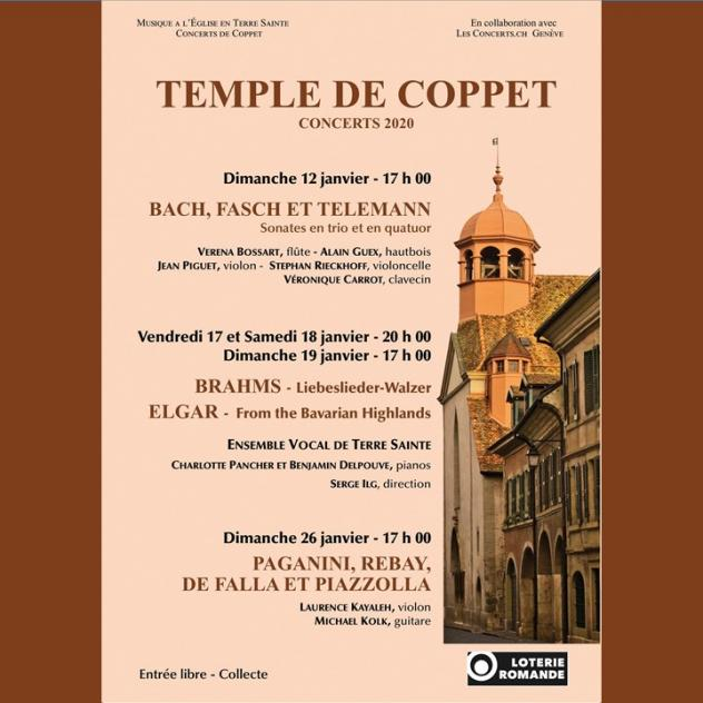 Ensemble Vocal de Terre Sainte - Temple of Coppet
