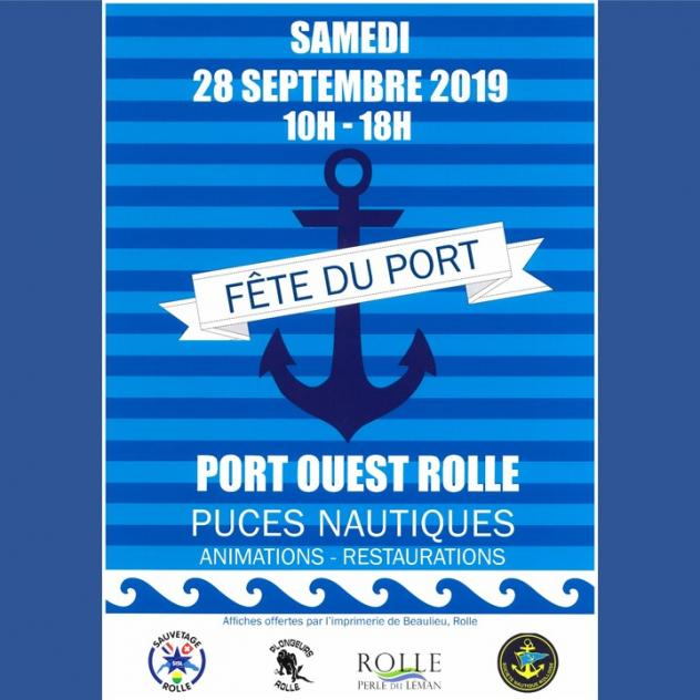 Harbour's festival and Nautic Flea Market - West Port of Rolle