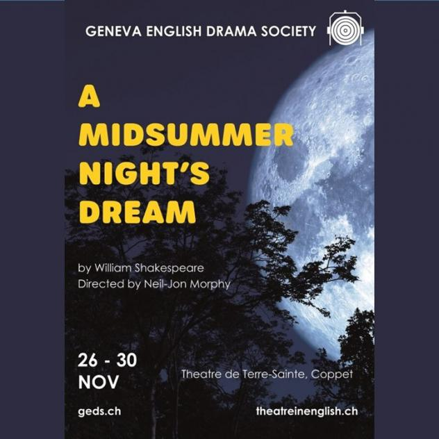 Geneva English Drama Society - A midsummer night's dream