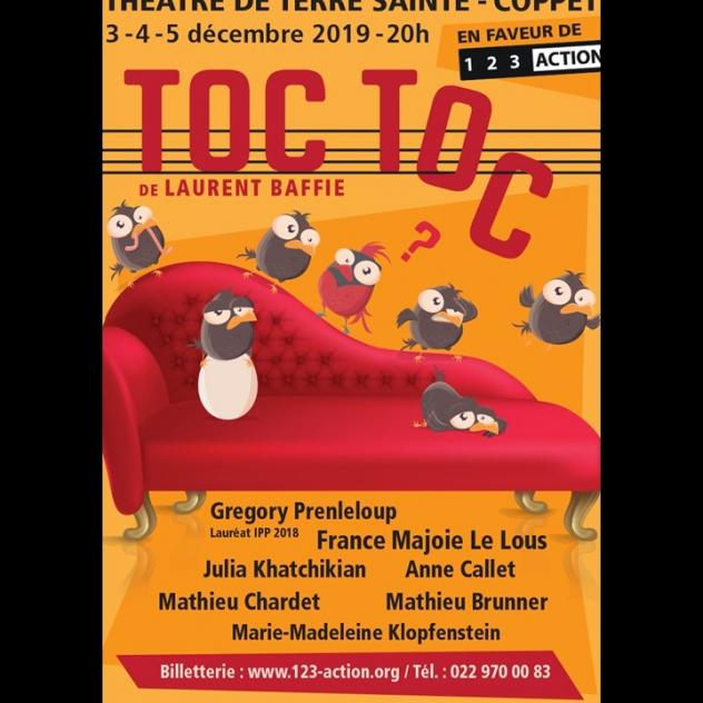 TOC TOC - Laurent Baffie