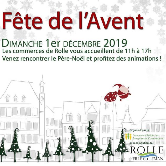 Advent party in Rolle