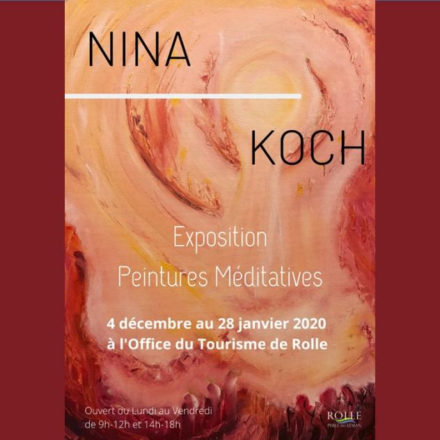 Exhibition - Nina Koch - Rolle Tourist Office