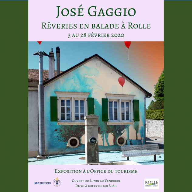 Exhibition - José Gaggio - Rolle Tourist Office