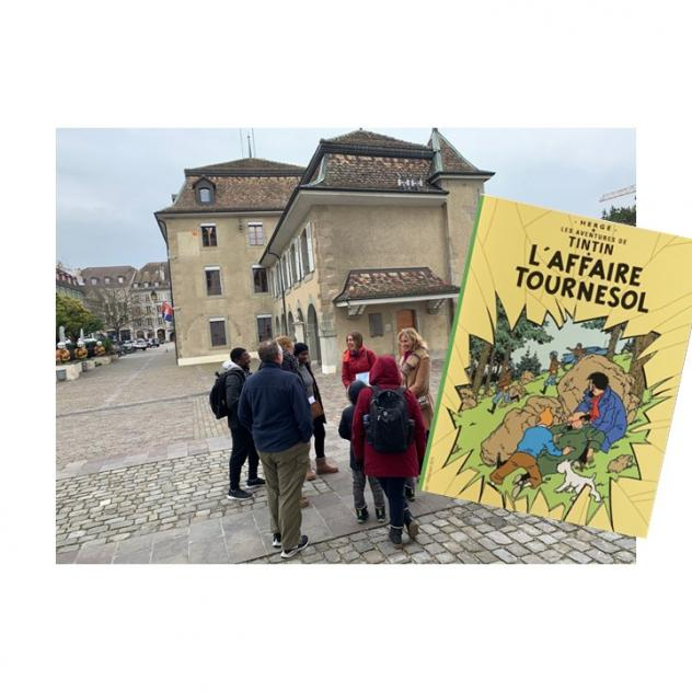 Guided walking tour - Hergé, Tournesol & Tintin