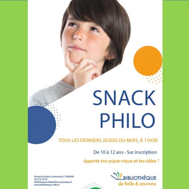 Snack Philo - Rolle Library