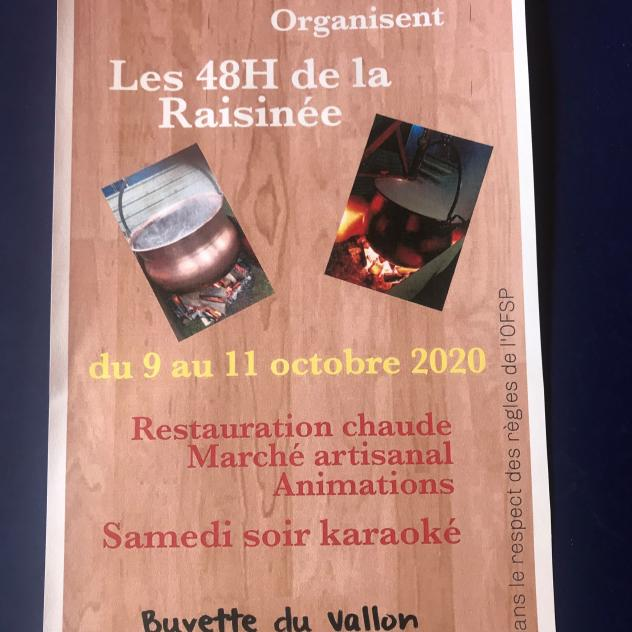 The 48h of the Raisinée