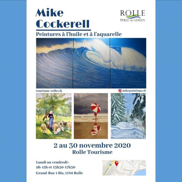 Exposition de novembre - Mike Cockerell à Rolle Tourisme