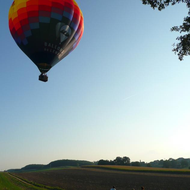 Balloon flight & regional flavours