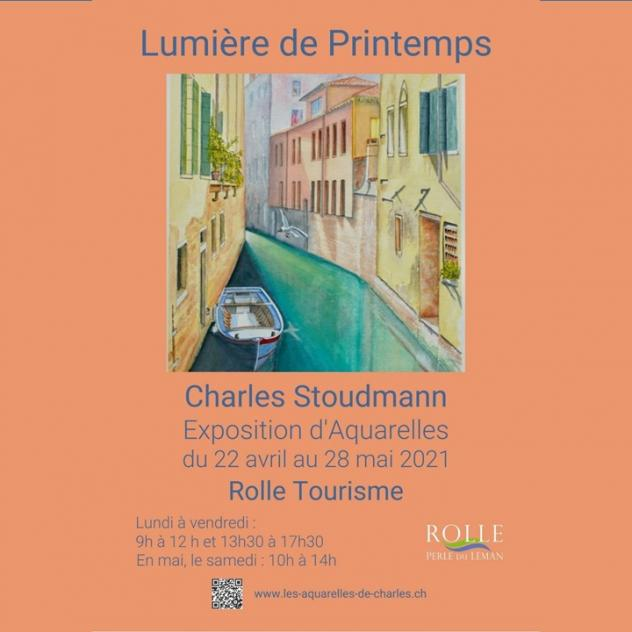 Exposition - Charles Stoudmann - Rolle Tourisme