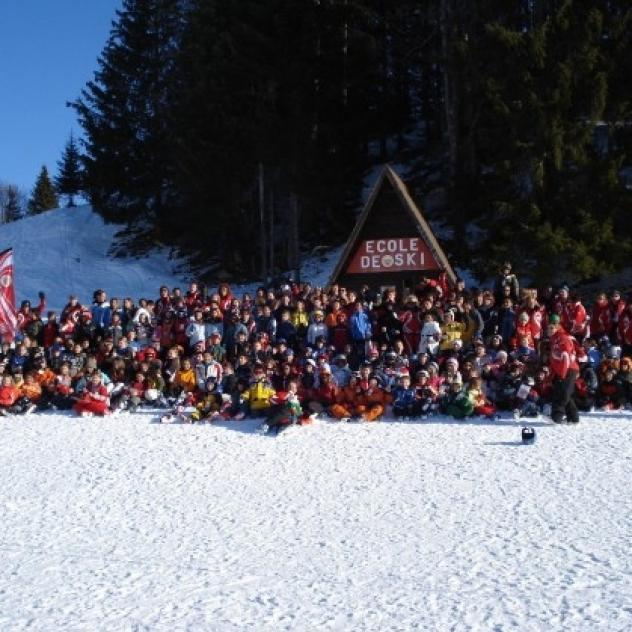 Swiss ski school - La Dôle