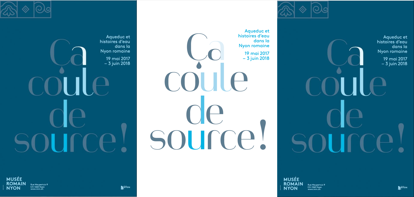 "Exhibition ""Ca coule de source"""