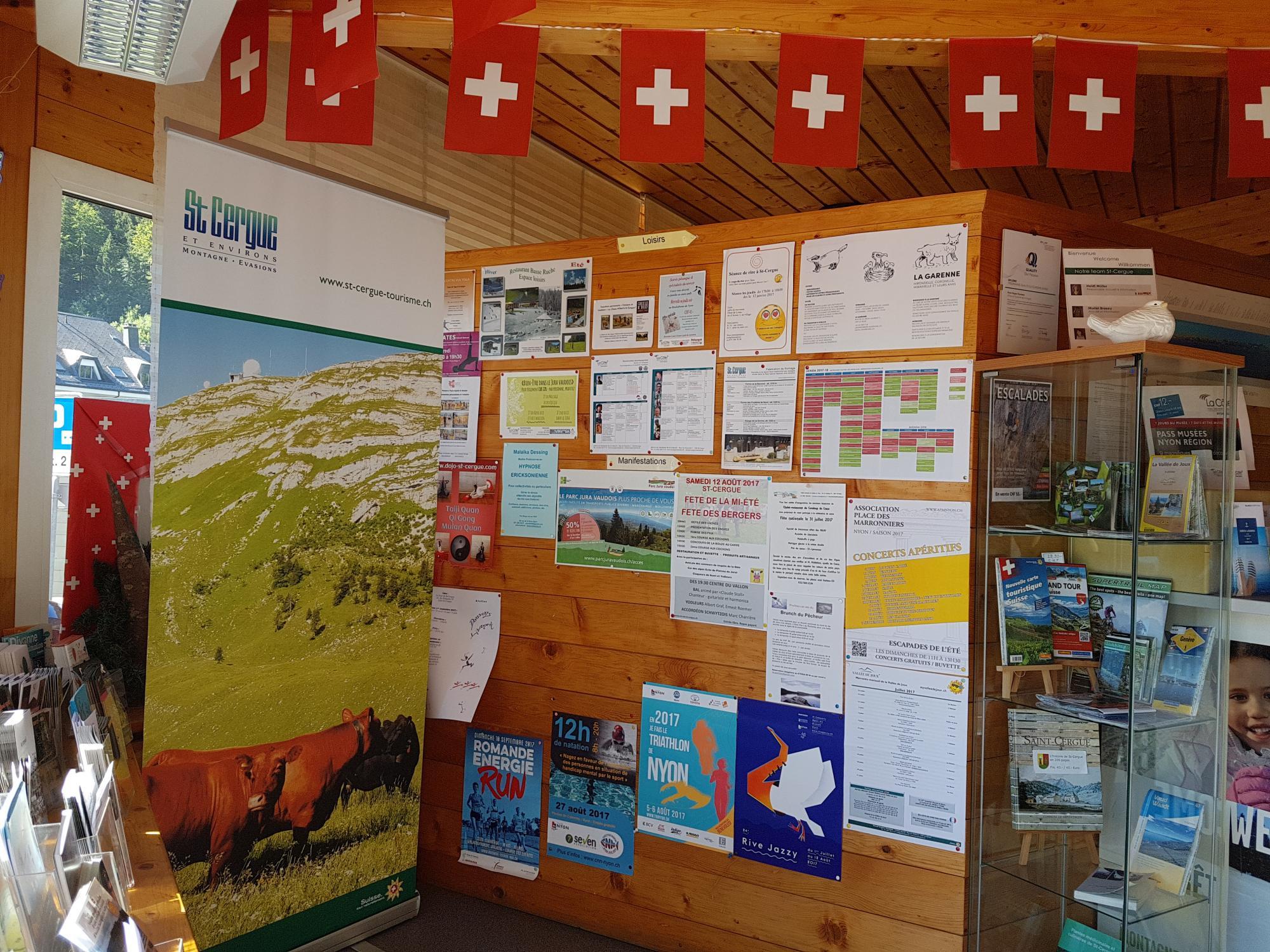 Tourist office st cergue