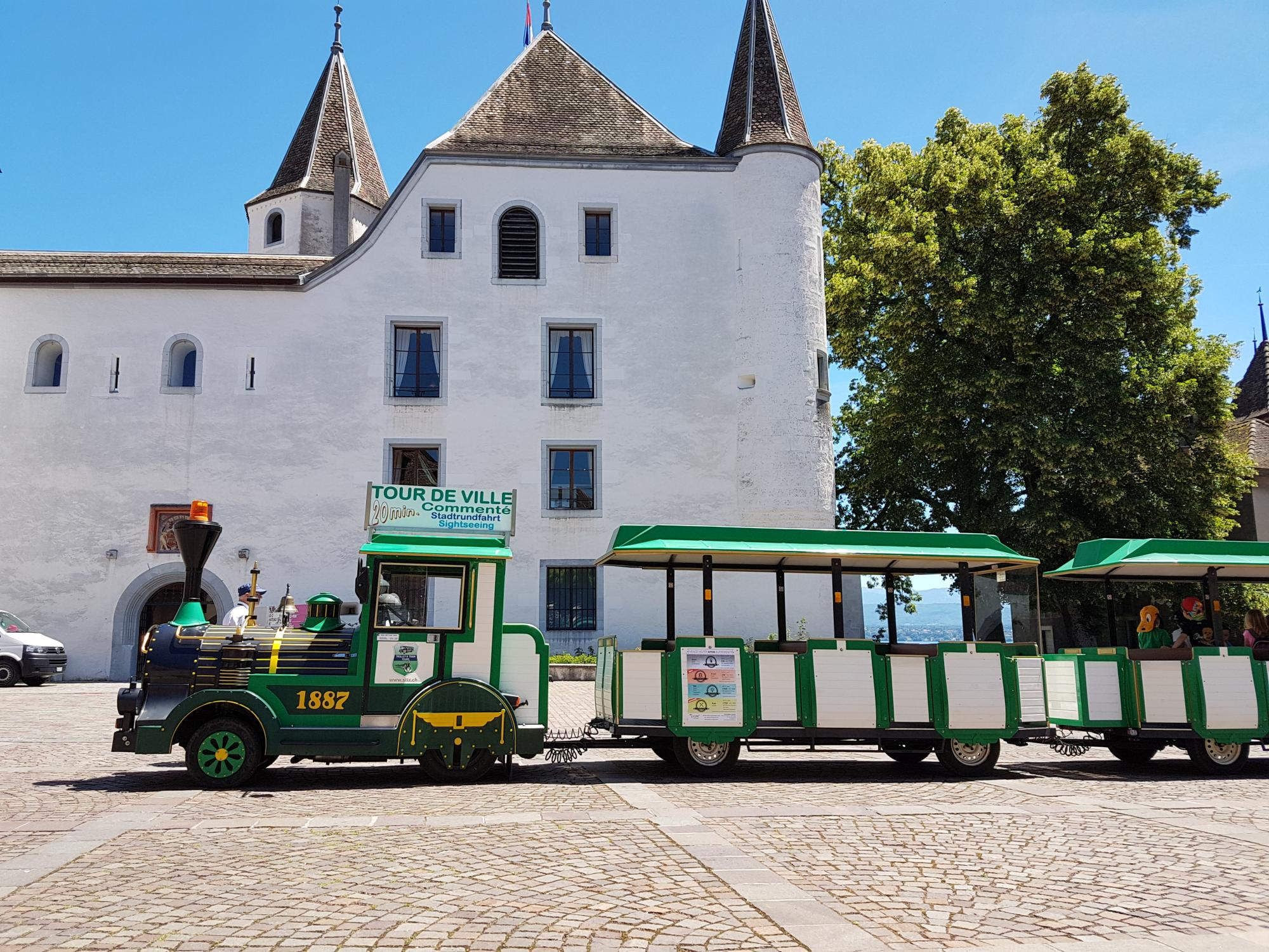 Tourist Little Train Nyon La Cte Region Tourist Office