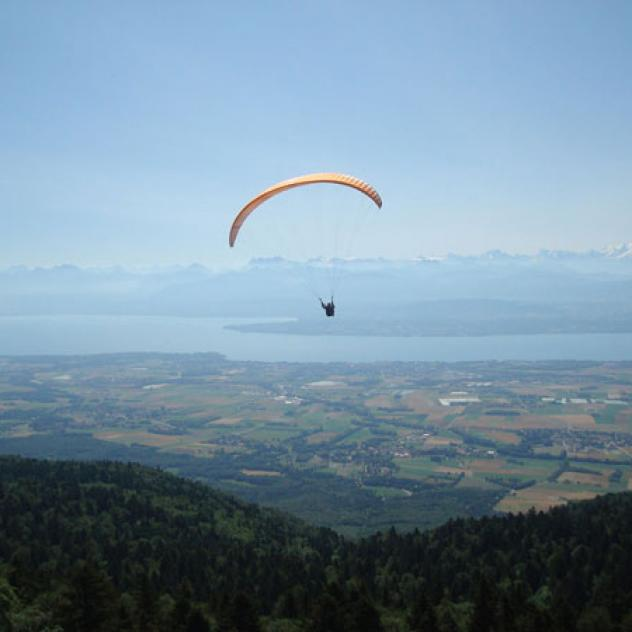Paragliding - Region of Nyon