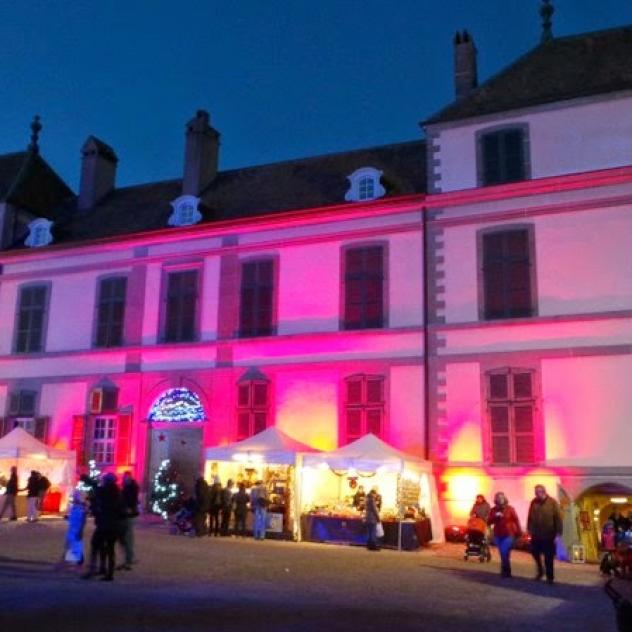 Christmas market at the Castle of Coppet