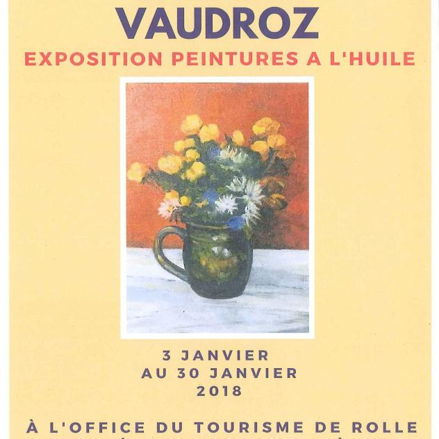 Exposition - Charles Vaudroz - Tourist office of Rolle