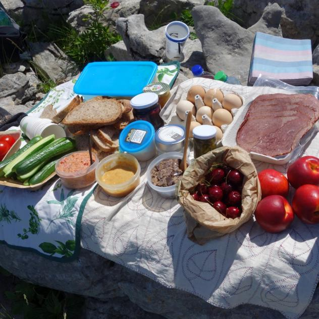 Mountain Events, Guide - Gourmet hikes