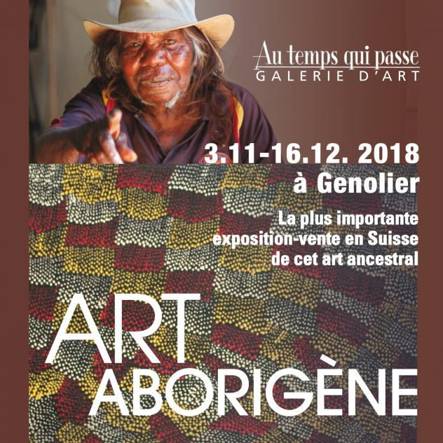 "Aboriginal Art Exhibition - ""Au temps qui passe"" Gallery"