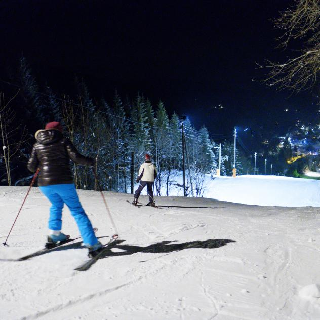 END OF THE SEASON - Night skiing & Fondue - Package
