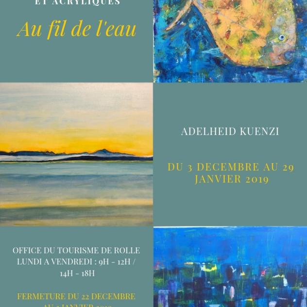Exhibition - Adelheid Kuenzi - Office du Tourisme de Rolle