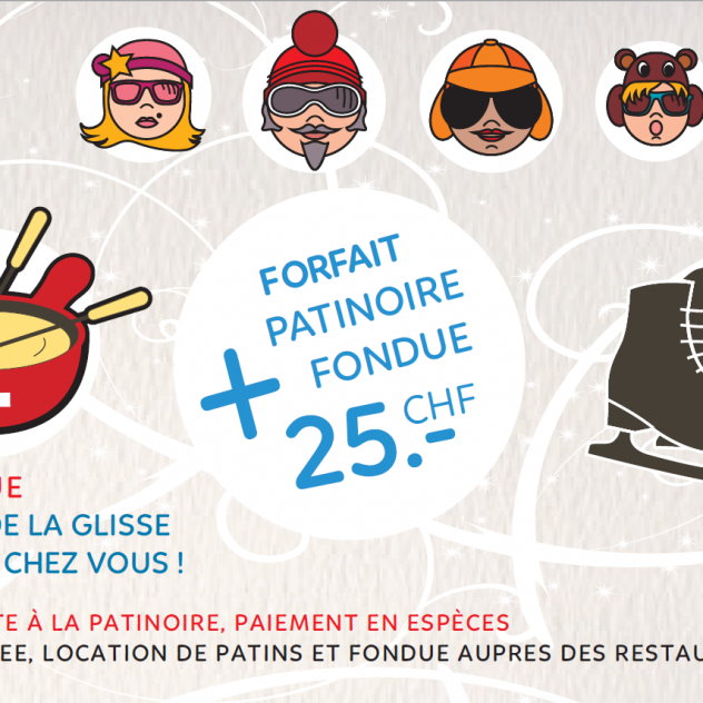 Ice skating & Fondue package