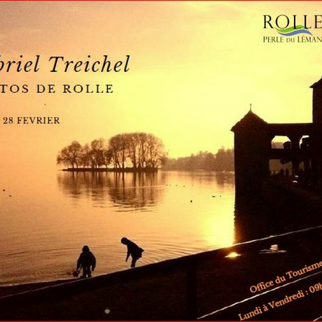 Exhibition - Gabriel Treichel - Office du Tourisme de Rolle
