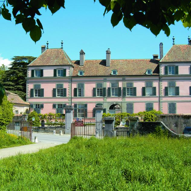 Rooms for events at the Château de Coppet