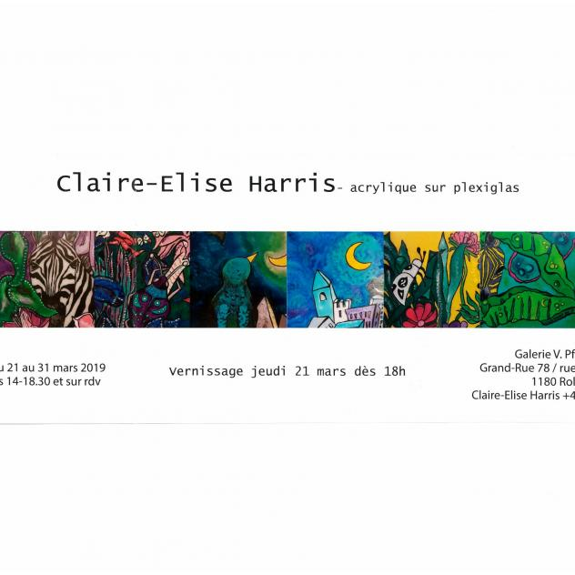 Exposition Galerie Pfeiffer - Claire-Elise Harris