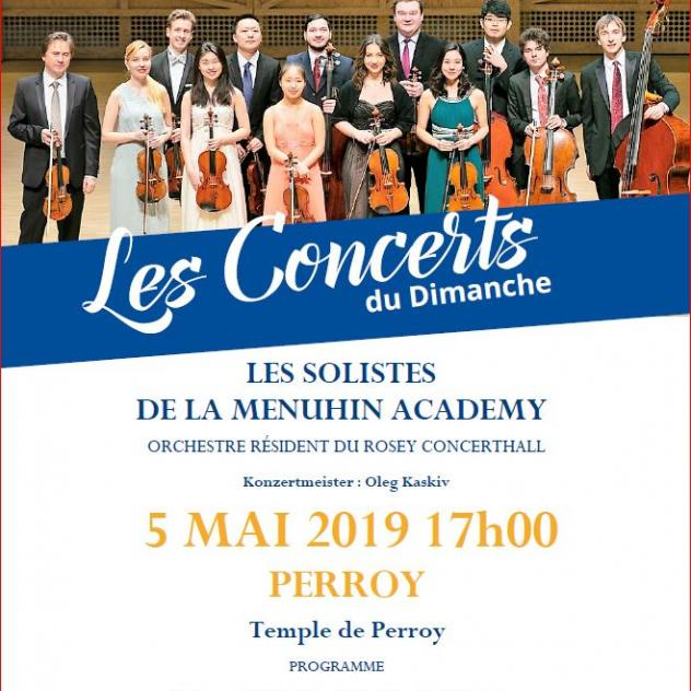 Konzert - International Menuhin Music Academy