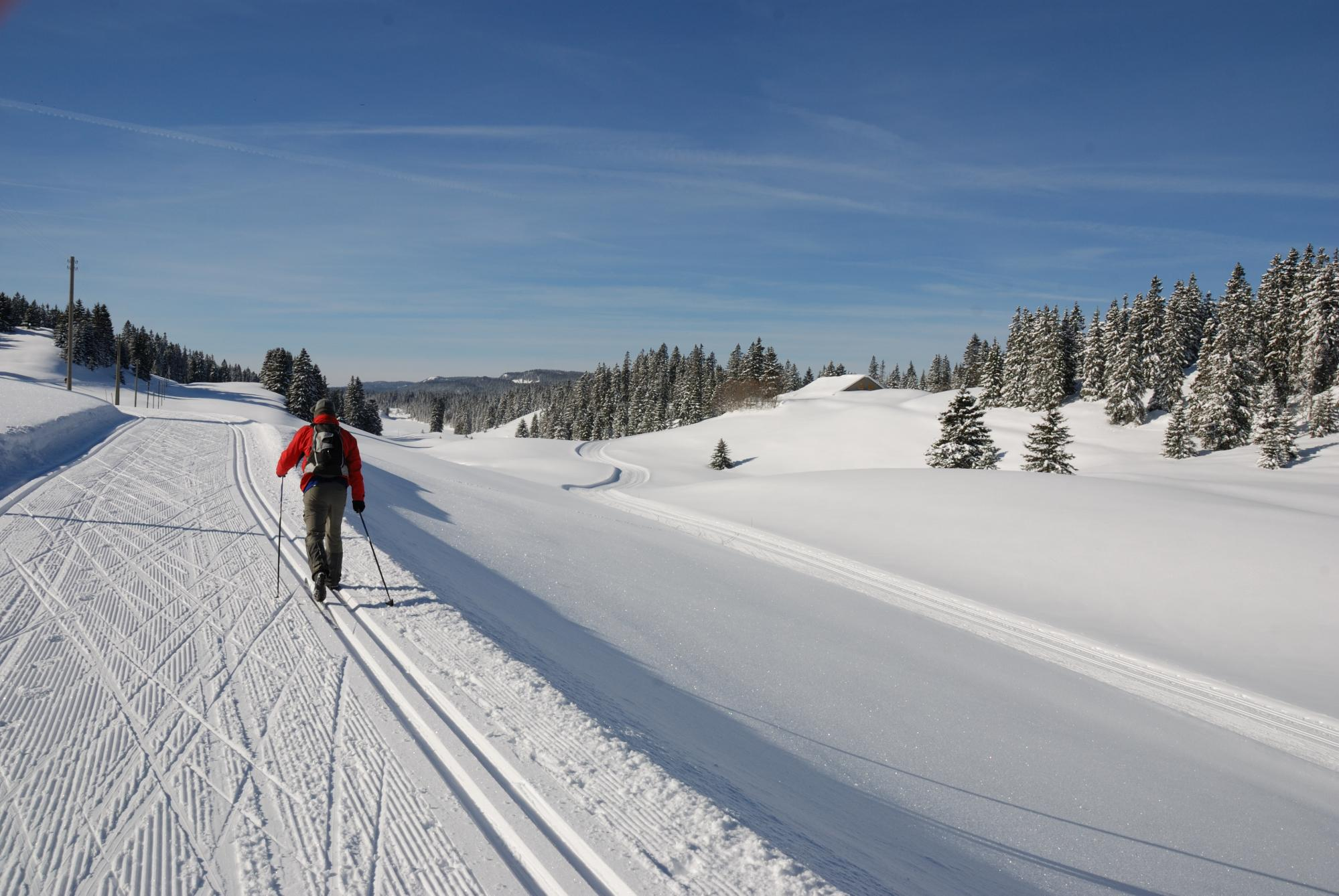 Cross-country skiing - Vallée de Joux