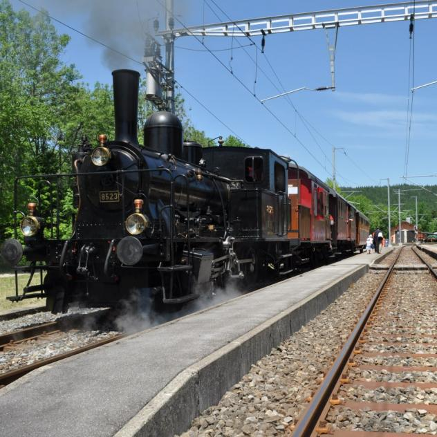 Steam Train Le Pont – Le Brassus