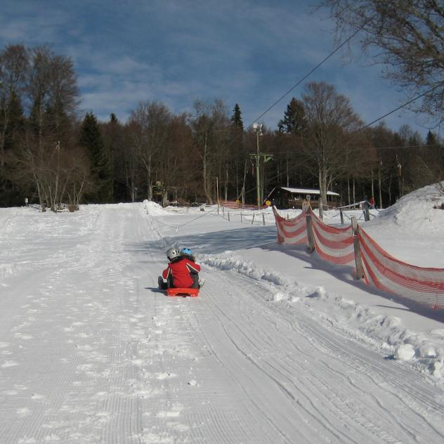 The Bobsled lift at Mauborget