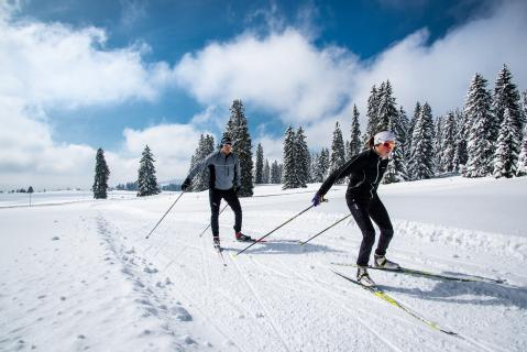 Offer - Cross-country skiing and genuine Gruyère AOP fondue