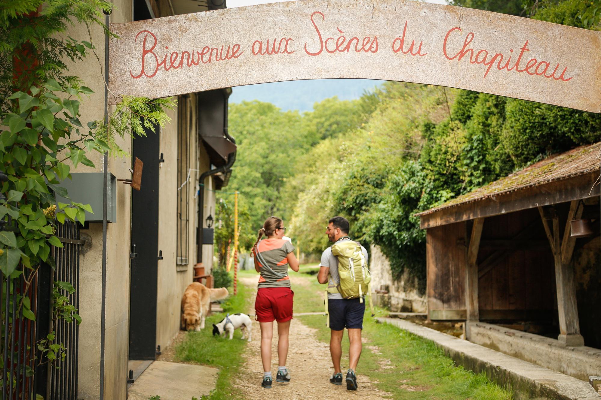 Les sc nes du chapiteau yverdon les bains region jura for Location yverdon les bains suisse
